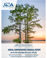 FY17 James City Service Authority Comprehensive Annual Financial Report